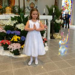 Maddie's 1rst Communion April 10, 2016